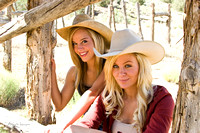 Tanaca and Debby, Cowgirls